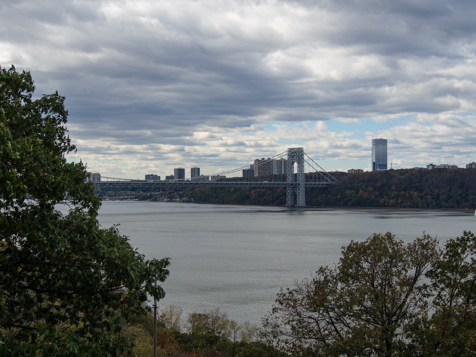 George Washington Bridge from the Cloisters