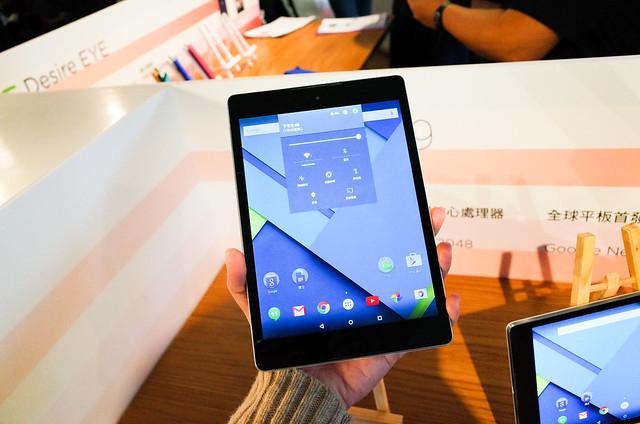 以下犯上 HTC Desire EYE 自拍神器、Desire 820 中階雙卡、Nexus 9 平版歸來 @3C 達人廖阿輝