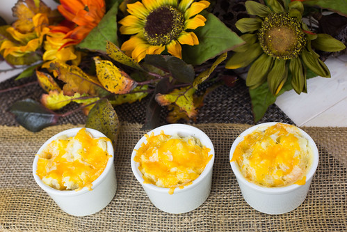 Cheesy Mashed Potato Pots