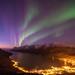 Twilight in Ersfjordbotn by John A.Hemmingsen