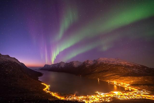 John A.Hemmingsen - Twilight in Ersfjordbotn