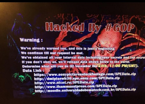 Sony Pictures Hacked - Employee Details Leaked