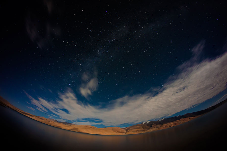 Starry starry night... Tsomoriri, Ladakh