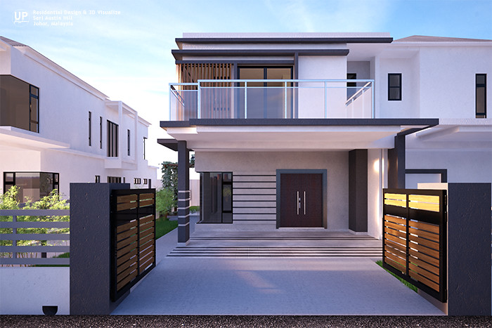 Exterior house design in malaysia house design for Best house design malaysia