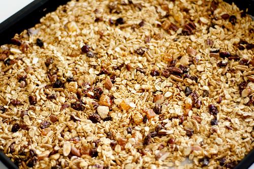 Homemade Crunchy Granola