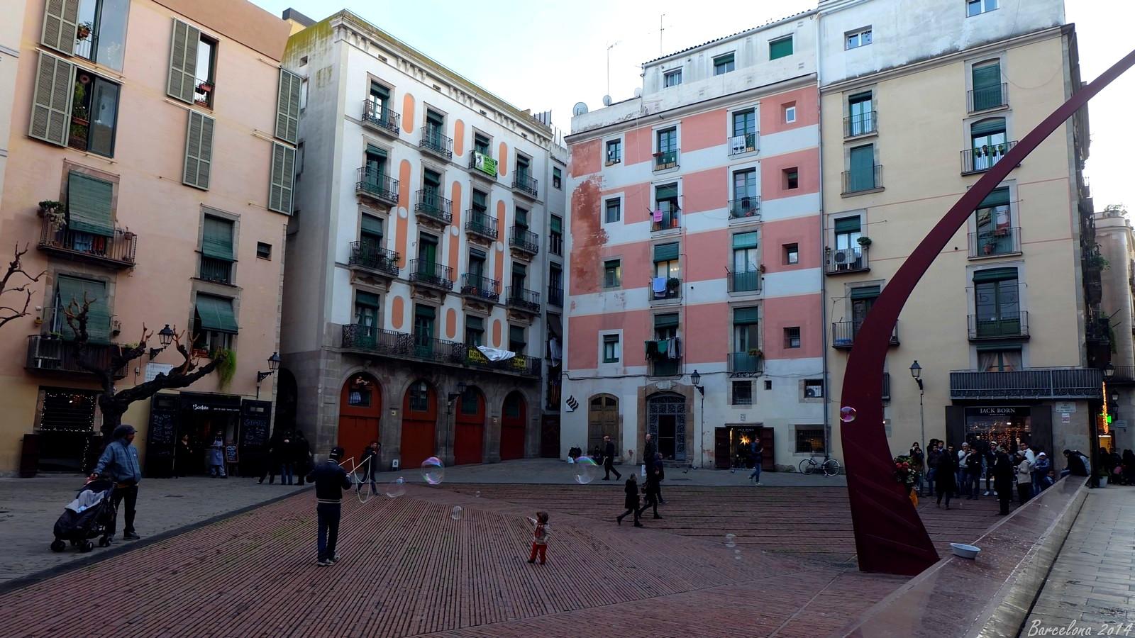 Barcelona day_1, plaça del fossar de les moreres