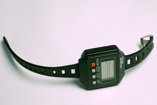 "Fri, 10/17/2014 - 17:17 - This circa 1983 heart rate monitor was considered ""advanced"" for the period. It required a hard-wired strap to be worn around your chest and the level of accuracy was highly suspect. I tested several of the early HR monitors and became confused when my resting pulse showed 120 BPM and a sub-max effort on the track indicated half of that. Still, this product exemplifies the efforts of manufacturers to offer what exercise physiologists need to empiricize multisport training.  By Scott Tinley"