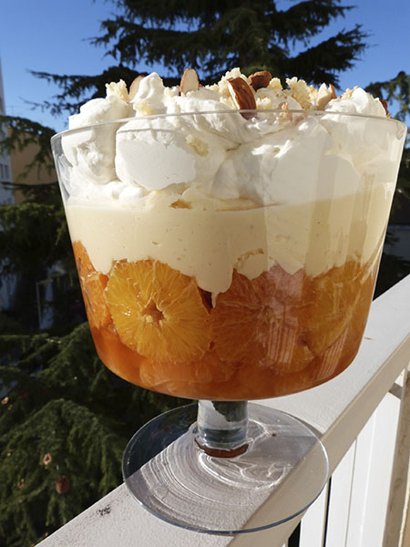 trifle mandarines