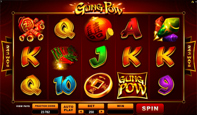 Gung Pow slot game online review
