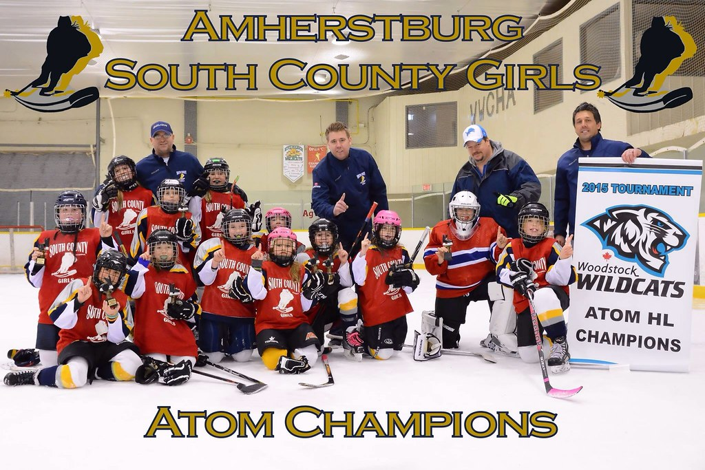 South County Amherstburg Atom Girls Hockey