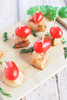 Chicken Caprese Bites