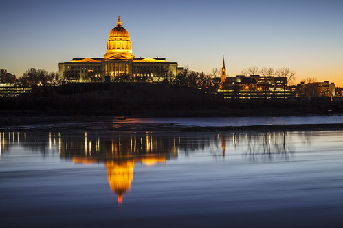 "Capitol ""State Capitol"" river water ice freeze ""Missouri River"" ""Missouri State Capitol"" building architecture ""Cole County"" Missouri ""Jefferson City"" ""Jefferson City Missoui"" 2015 Winter January evening Notley ""Notley Hawkins"" 10thavenue reflect reflections reflection blue ""blue sky"" ""Jeff City"" ""capitol dome"" lights http://www.notleyhawkins.com/ ""Missouri Photography"" ""Notley Hawkins Photography"" ""Rural Photography"" sunset"
