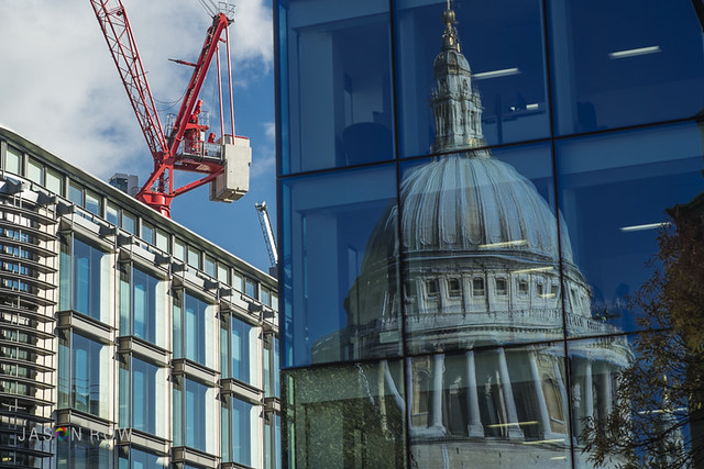 Refelctions of St Paul's Cathedral