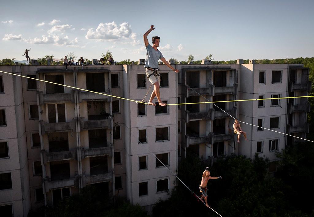 Mohai Balázs_MTI_Highline a Szellemvárosban_