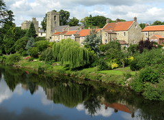 West Tanfield (on the River Ure), North Yorkshire, England