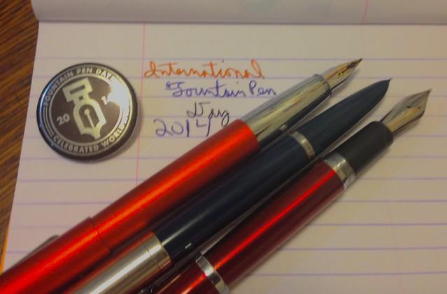 Fountain Pen Day 2014