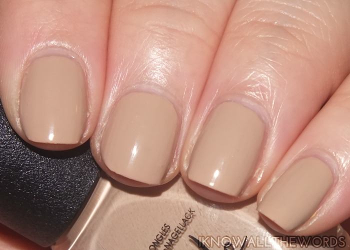 nicole by opi new shades- count to tan