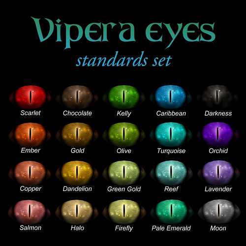 Devae. Eyes: Vipera standard colors