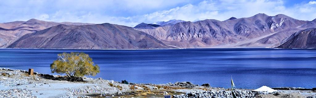 Pangong Tso..... A Panorama