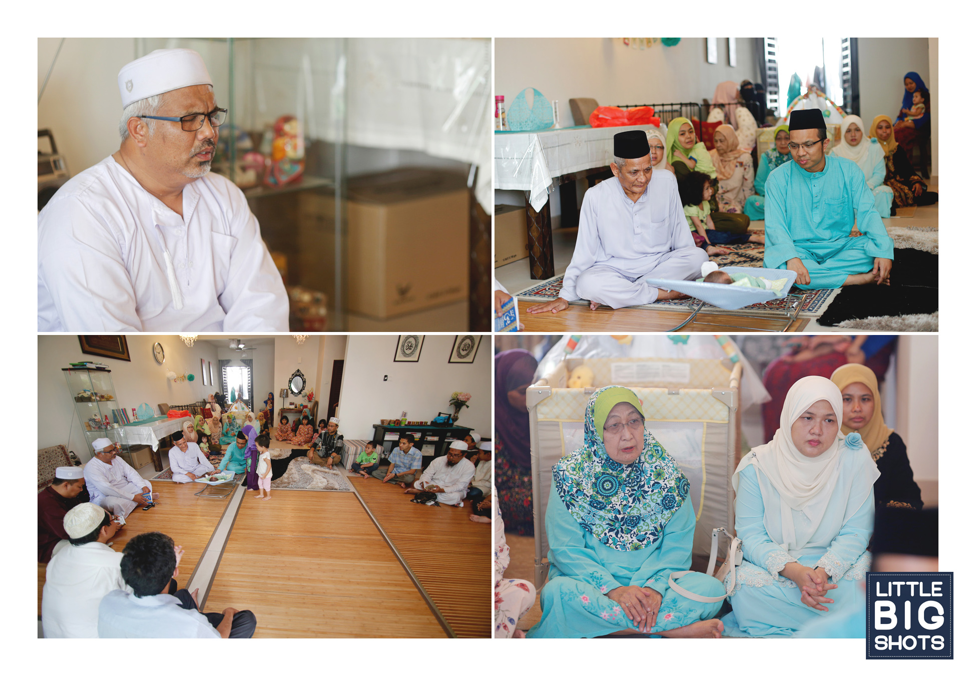 Majlis Aqiqah & Kesyukuran Mior Ahmad Rayyan