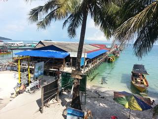 Puerto Koh Rong isla