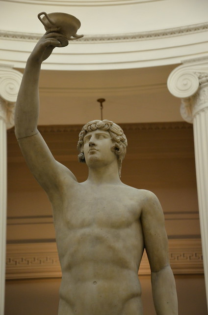 Antinous, c. AD 130-138, restored c. 1795 as Ganymede, Lady Lever Art Gallery, Port Sunlight