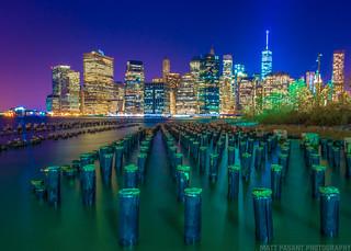 New York City, New York - Brooklyn Bridge Park