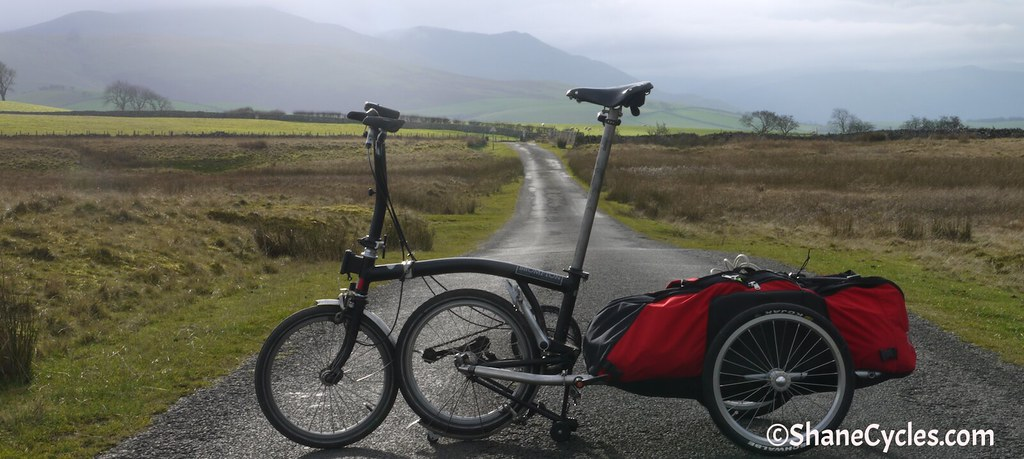 Brompton touring set up