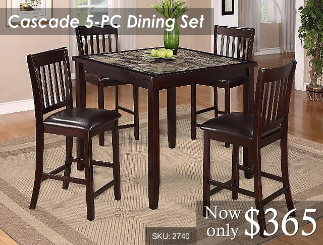 2740 - Cascade Dining Priced