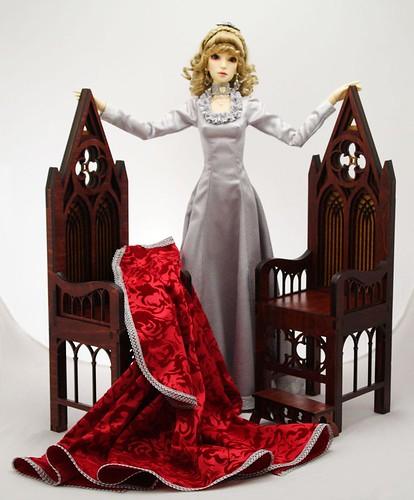 Gothic throne model 01