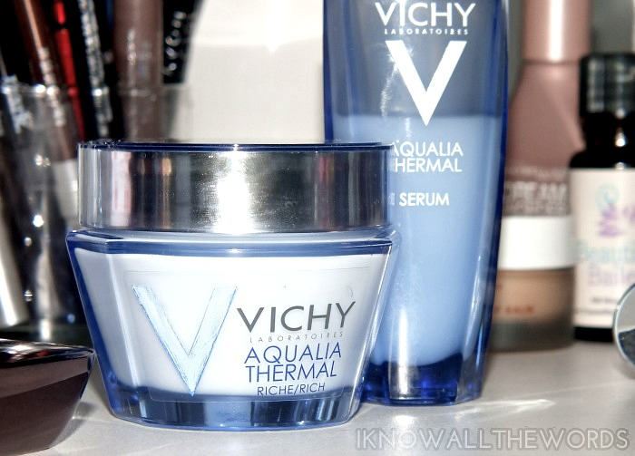 vichy aqualia thermal dynamic power serum and hydration rich cream