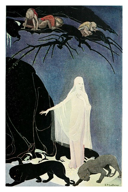 002-The three Mulla-mulgars -1919- Ilustrado por Dorothy P. Lathrop