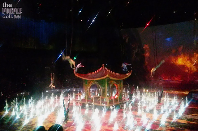 The House of Dancing Water Show at City of Dreams Macau