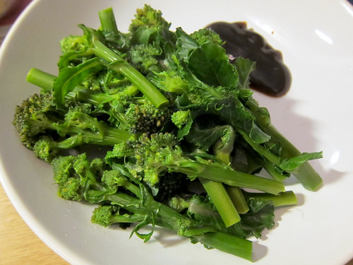 Purple Sprouting Broccoli and Oyster Sauce