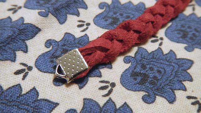 Braided Suede Bracelet 2