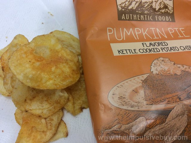 Boulder Canyon Thanksgiving Feast Potato Chips Pumpkin Pie