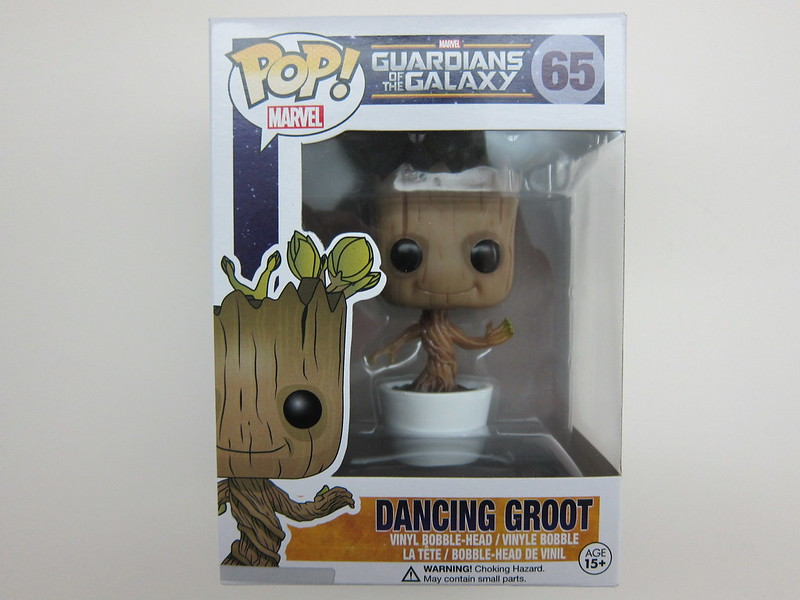 Funko Pop Dancing Groot - Box Front