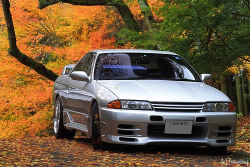 autumn color at Seiryuji Temple