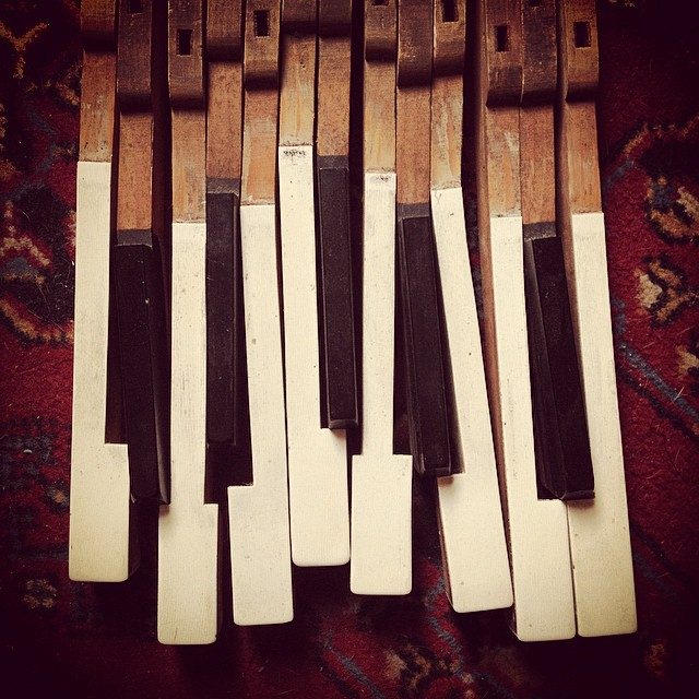 Like broken teeth #keys #piano #teeth #pianoforte