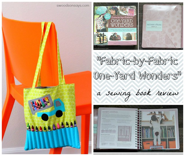 One Yard Wonders Sewing Book Review