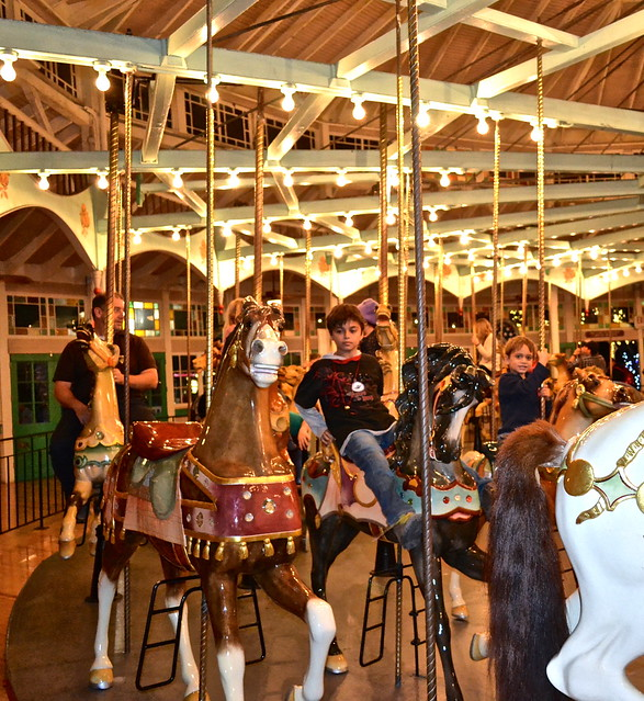 New Orleans City Park - carousel