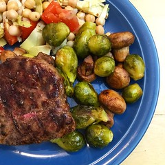 #steak and #veggies