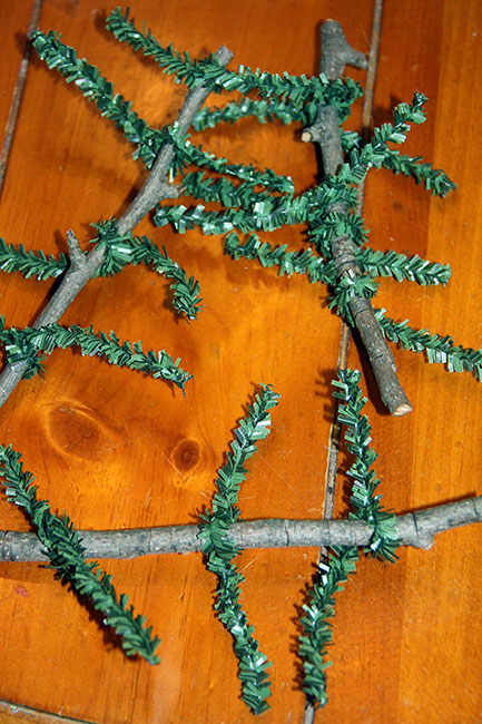 Adding-Pine-Needles