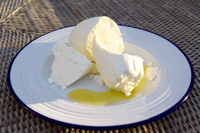 Labneh with olive Oil