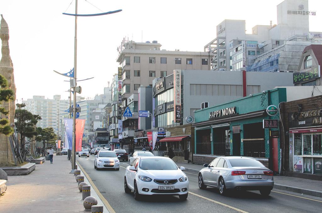Gwangalli-streets