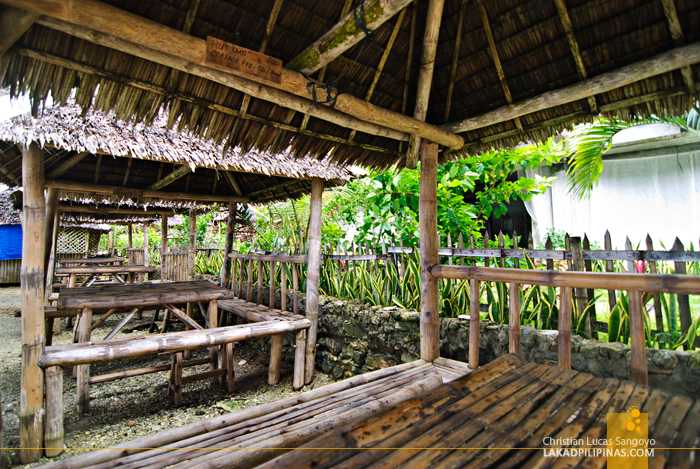 Beach Huts at Guisi Clearwater Beach Resort Hallway in Guimaras