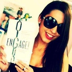 My good friend @carolzara rocking #Engage and very cool sunglasses