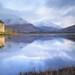 Kilchurn Winter Morning V2 by Pixelda