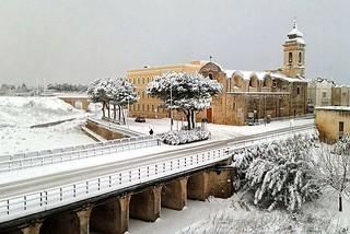 Noicattaro. Nevicata 31 Dicembre 2014 front