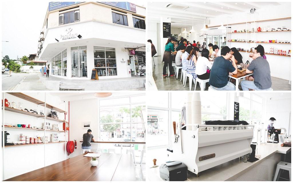 Pacamara Boutique Coffee Roasters Interior